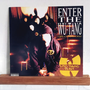 Skivomslag: Enter The Wu-Tang Clan (36 Chambers)
