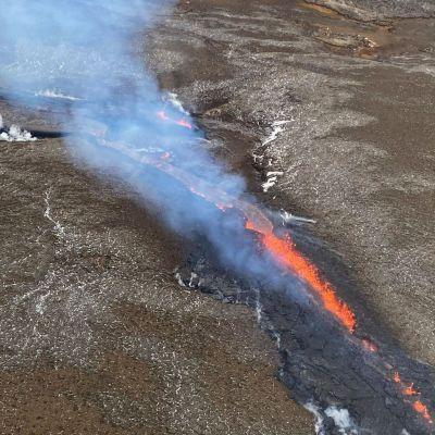 Vulkanutbrott på Island