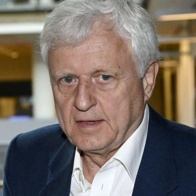 Affärsmannen Peter Fryckman i Helsingfors tingsrätt sommaren 2021.
