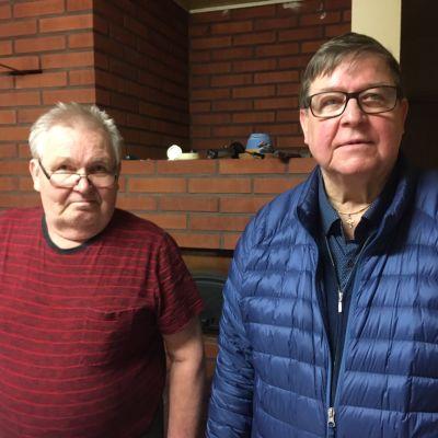 Lasse Anttila ja Eero Saarimäki
