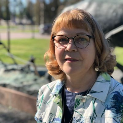 Harjavallan kaupunginhallituksen puheenjohtaja Pirjo-Riitta Tuomela (sd.)