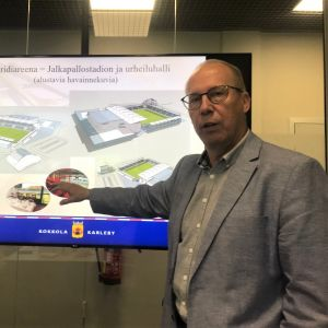 Projektledare Jarmo Nissi