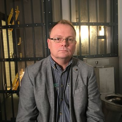 Vankilapsykiatri Alo Jüriloo sellissä.