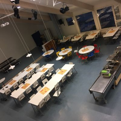 Imatralaisen Linnalan koulun ruokala
