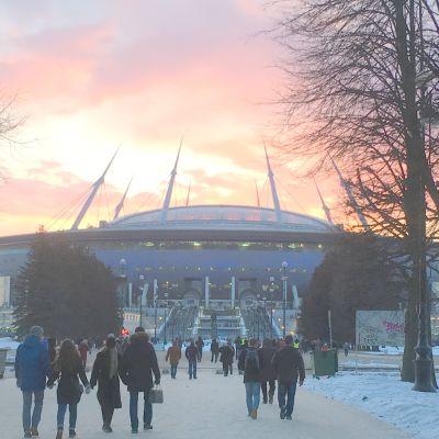 Pietarissa pelataan kaikkiaan seitsemän MM-ottelua, välierä mukaan lukien.
