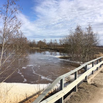 Lapuanjoen tulvaluukut avataan, jos vedenpinta nousee tulvarajalle.