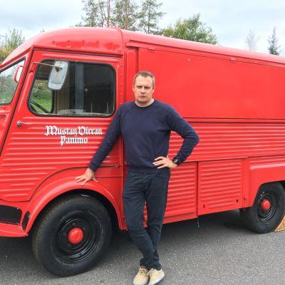 Mustan Virran Panimon toimitusjohtaja Petteri Vänttinen