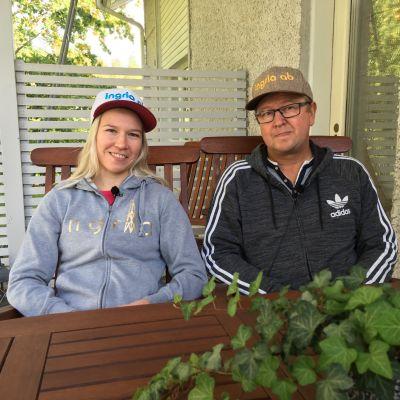 Julia ja Kimmo Kykkänen