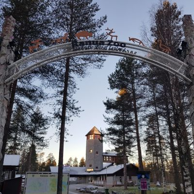 Ranuan eläinpuiston portti
