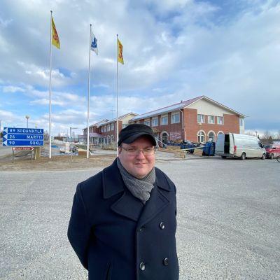 Savukosken kunnanjohtaja Antti Mulari. Savukoski 18.5.2020