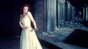 Moira Shearer elokuvassa Punaiset kengät