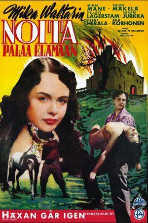Noita palaa elämään -elokuvan juliste (1952).