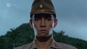 Ryuichi Sakamoto elokuvassa Merry Christmas Mr. Lawrence.