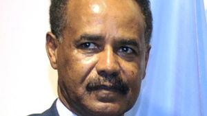 Eritreas president Isaias Afwerki år 2011 vid FN:s högkvarter i New York.