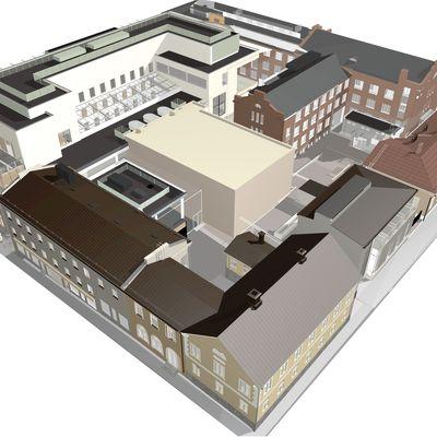 Det nya blivande campuset i Jakobstad.