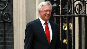 Storbritanniens Brexitminister David Davis