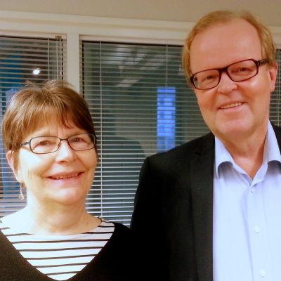 Agneta Glad och Gösta Willman