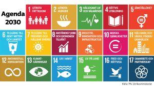 FN:s utvecklingsmål, agenda 2030