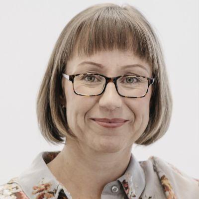 Professor Annina Ropponen vid Arbetshälsoninstitutet.