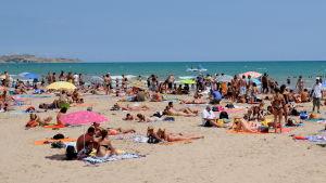 Rantaelämää Espanjan Alicantessa