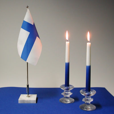 Självständighetsdags ljus