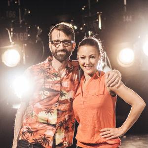 Pale Olin och Niki Westerback tävlar i På resande not