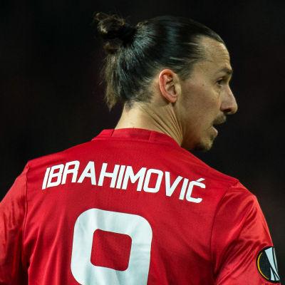 Zlatan Ibrahimovic ryggtavla.