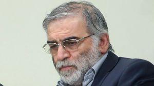 Mohsen Fakhrizadeh på ett av de få fotografier som publicerats på honom. Den här bilden uppges vara tagen i januari 2019.