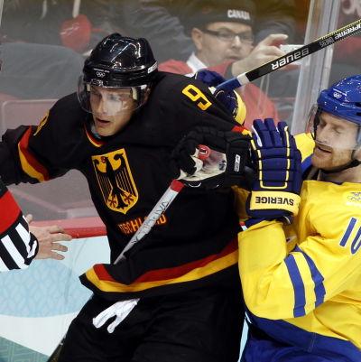 Ishockeyspelare tampas.