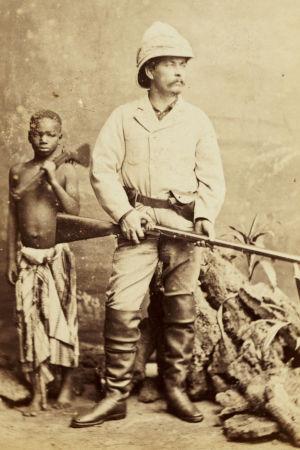 henry morton stanley och en svart pojke