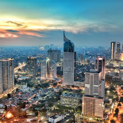 Indonesiens huvudstad Jakarta