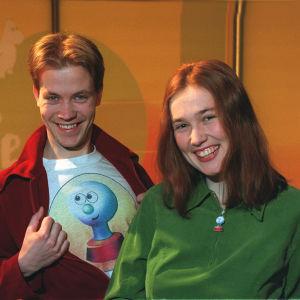 Kim och Kicki, Buuklubbens första ledare, 1997