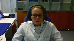 Sisko Huumonen är Finlands enda professor i odontologisk radiologi, det vill säga tandröntgen.