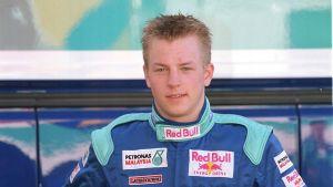 Kimi Räikkönens karriär började vid Sauber 2001.