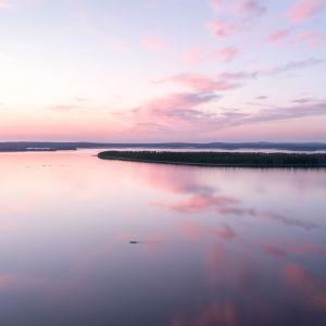 Tuomas Juntusen ottama valokuva järvimaisemasta Kainuussa
