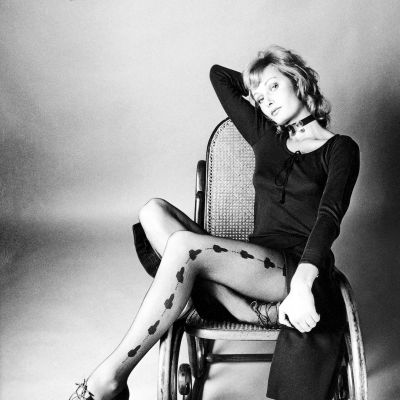 Norlynin sukkahousumainos 1970-luvun alussa.