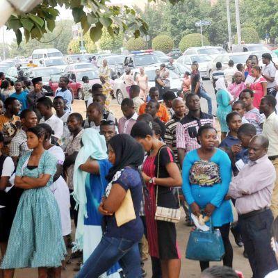 Stipendiekandidater på University of Abuja