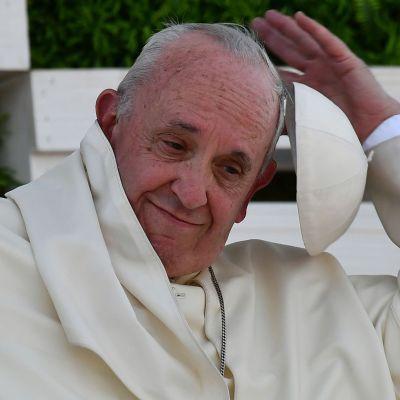 Påven Franciskus i Santiago, Chile 17.1.2018.
