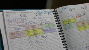 Opettajan kalenteri
