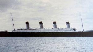 Titanic satamassa