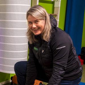 Liikuntakeskus Liikun perustaja Johanna Riihijärvi