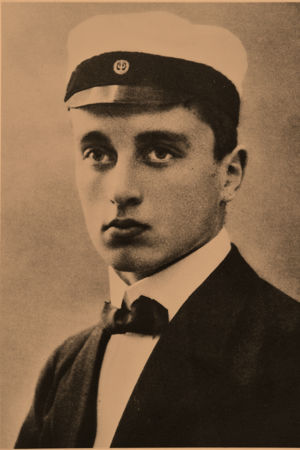 Bobi Sivén ylioppilaana 1918