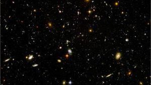 Foto taget av Hubble-rymdteleskopet.