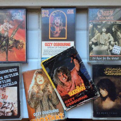 Ozzy Osbourne-kassetter