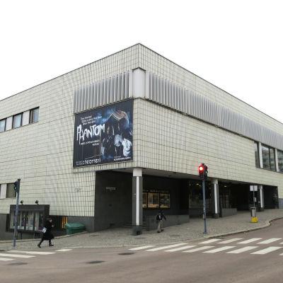 Jyväskylän kaupunginteatteri ulkoa.