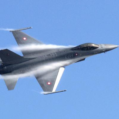 Lockheed Martin F-16 Fighting Falcon från Danmarks Flygvapen