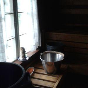 Melkein sata vuotta suomalaista saunanautintoa Pellonpäässä.