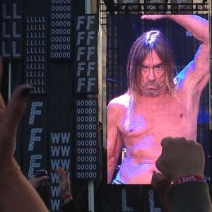 Iggy Pop på Flow 2016.