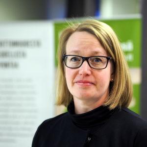 Pia Lindfors är verksamhetsledare för Flyktingrådgivingen.