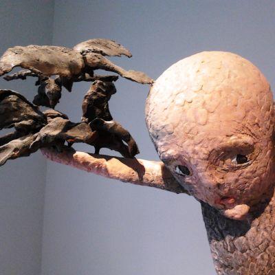 Tommi Toijas skulptur